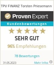Erfahrungen & Bewertungen zu TPV FINANZ Torsten Priesemann