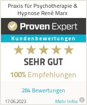 Erfahrungen & Bewertungen zu Praxis für Psychotherapie & Hypnose René Marx