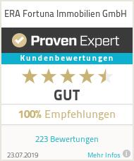 Erfahrungen & Bewertungen zu ERA Fortuna Immobilien GmbH