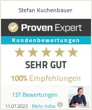 Erfahrungen & Bewertungen zu Stefan Kuchenbauer