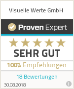 Erfahrungen & Bewertungen zu Visuelle Werte GmbH