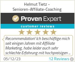 Erfahrungen & Bewertungen zu Helmut Tietz - Senioren-Affiliate-Coaching