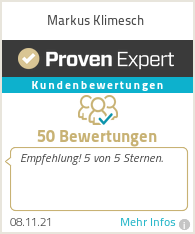 Erfahrungen & Bewertungen zu Markus Klimesch