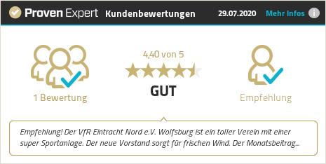 Kundenbewertungen & Erfahrungen zu VfR Eintracht Nord e.V. Wolfsburg. Mehr Infos anzeigen.