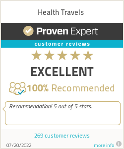Ratings & reviews for Health Travels
