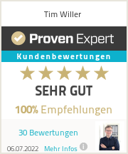 Erfahrungen & Bewertungen zu Tim Willer Marketing