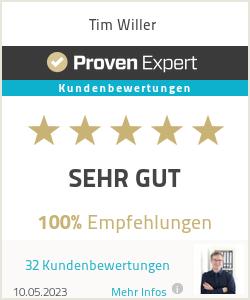 Erfahrungen & Bewertungen zu Tim Willer