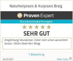 Erfahrungen & Bewertungen zu Naturheilpraxis & Kurpraxis Braig