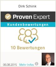 Erfahrungen & Bewertungen zu Dirk Schink