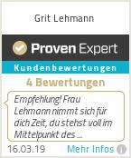 Erfahrungen & Bewertungen zu Grit Lehmann