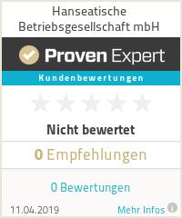 Erfahrungen & Bewertungen zu Hanseatische Betriebs- und Vertriebsgesellschaft mbH
