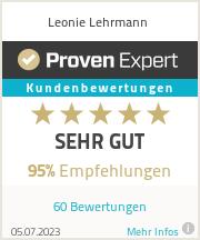 Erfahrungen & Bewertungen zu Leonie Lehrmann