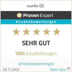 Erfahrungen & Bewertungen zu numfix OG