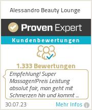Erfahrungen & Bewertungen zu Alessandro Beauty Lounge