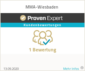 Erfahrungen & Bewertungen zu MMA-Wiesbaden