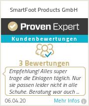 Erfahrungen & Bewertungen zu SmartFoot Products GmbH