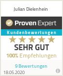 Erfahrungen & Bewertungen zu Julian Dielenhein