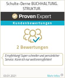 Erfahrungen & Bewertungen zu Schulte-Derne BUCHHALTUNG. STRUKTUR.