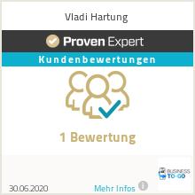 Erfahrungen & Bewertungen zu Vladi Hartung