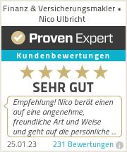 Erfahrungen & Bewertungen zu Finanz & Versicherungsmakler • Nico Ulbricht