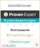 Erfahrungen & Bewertungen zu QUOVADIS GmbH
