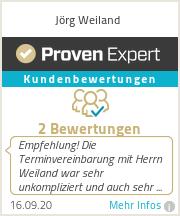 Erfahrungen & Bewertungen zu Jörg Weiland
