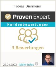 Erfahrungen & Bewertungen zu Tobias Diermeier