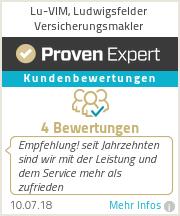 Erfahrungen & Bewertungen zu Lu-VIM, Ludwigsfelder Versicherungsmakler