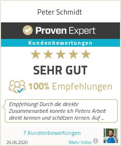 Erfahrungen & Bewertungen zu Peter Schmidt