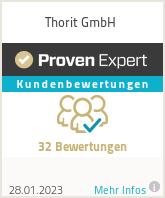 Erfahrungen & Bewertungen zu Thorit GmbH