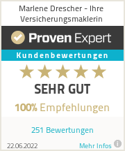 Erfahrungen & Bewertungen zu Marlene Drescher - Ihre Versicherungsmaklerin