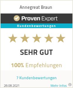 Erfahrungen & Bewertungen zu Annegreat Braun