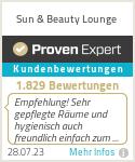 Erfahrungen & Bewertungen zu Sun & Beauty Lounge