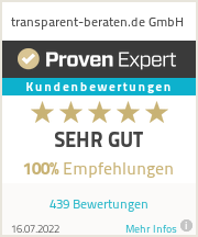 Erfahrungen & Bewertungen zu transparent-beraten.de GmbH