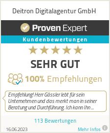 Erfahrungen & Bewertungen zu Deitron e.K.