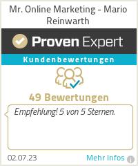 Erfahrungen & Bewertungen zu Mario Reinwarth