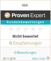 Erfahrungen & Bewertungen zu RMI