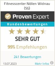 Erfahrungen & Bewertungen zu Fitnesscenter Nöllen Widnau (SG)