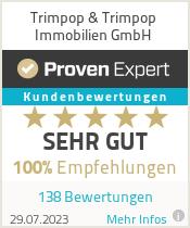 Erfahrungen & Bewertungen zu Trimpop & Trimpop Immobilien GmbH