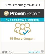 Erfahrungen & Bewertungen zu SN Versicherungsmakler e.K
