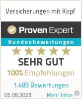 Erfahrungen & Bewertungen zu Versicherungen mit Kopf