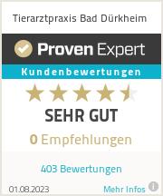 Erfahrungen & Bewertungen zu Tierarztpraxis Bad Dürkheim