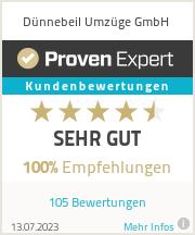 Erfahrungen & Bewertungen zu D�nnebeil Umz�ge GmbH