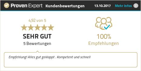 Erfahrungen & Bewertungen zu Rohrreinigung-Zentrale.de anzeigen