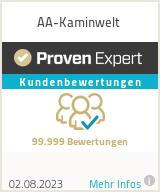 Erfahrungen & Bewertungen zu AA-Kaminwelt