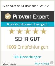 Erfahrungen & Bewertungen zu Zahnärzte Mülheimer Str. 123