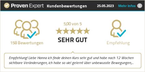 Kundenbewertungen & Erfahrungen zu Hanna Sacher. Mehr Infos anzeigen.