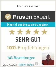 Erfahrungen & Bewertungen zu Hanno Fecke