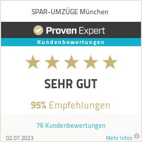 Erfahrungen & Bewertungen zu  SPAR-UMZÜGE München