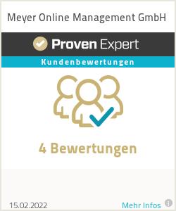Erfahrungen & Bewertungen zu Meyer Online Management